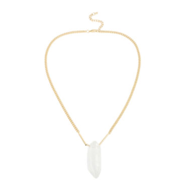 jcpenney.com | Bleu™ Quartz Gold-Tone Pendant Necklace