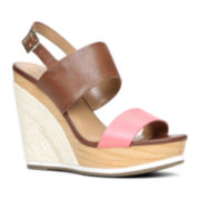 Call It Spring™ Reagh Strap Wedge Sandals