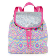 On The Verge Tribal-Print Backpack – Girls One Size