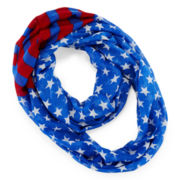 On The Verge American Flag Scarf – Girls One Size