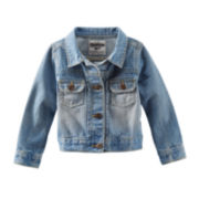 OshKosh B'gosh® Denim Jacket – Preschool Girls 4-6x