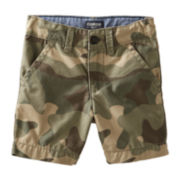 OshKosh B'gosh® Camo Shorts – Preschool Boys 4-7