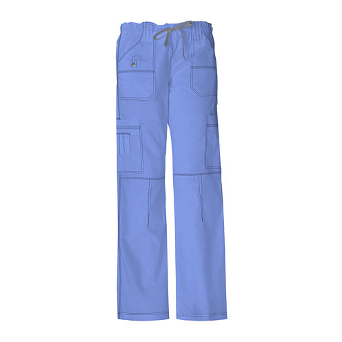 Dickies® Womens Youth Cargo Scrub Pants–Plus