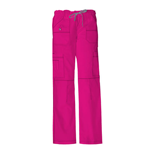 Dickies® Womens Youth Cargo Scrub Pants–Petite