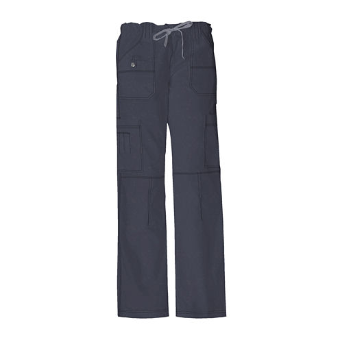Dickies® Women's Youth Cargo Scrub Pants–Tall