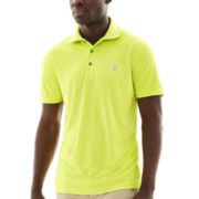 IZOD® Golf Short-Sleeve Solid Grid Polo
