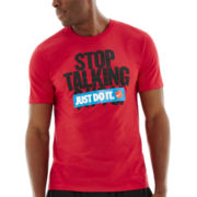 Nike® Stop Talking Graphic Tee