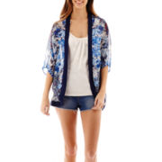 Heart & Soul® Print Layered Top or High-Rise Shorts