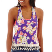 Arizona Fringe Pocket Tank Top
