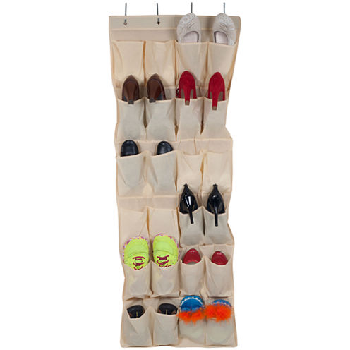 Lavish Home™ 24-Compartment Over-the-Door Shoe Organizer