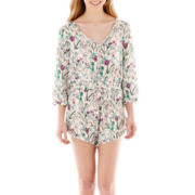 California Gypsy 3/4-Sleeve Romper