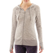 Xersion™ Studio Ruched Hoodie