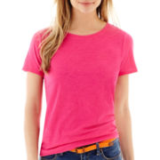 Stylus™ Short-Sleeve Relaxed Fit Crewneck Slub T-Shirt