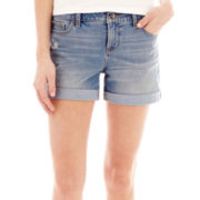 Stylus™ Roll-Cuff Denim Shorts