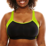 Ambrielle® Wireless Contour Sports Full Figure Bra