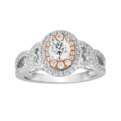 I Said Yes™ 1 CT. T.W. Diamond 10K Two-Tone Gold Engagement Ring