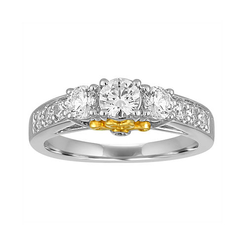 I Said Yes™ 1 CT. T.W. Diamond 10K White Gold Engagement Ring