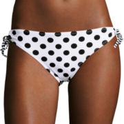 Arizona® Vanessa Dots Hipster Swim Bottoms