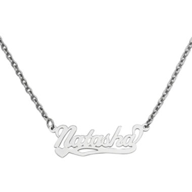 jcpenney.com | Personalized 10x31mm Heart Scroll Name Necklace