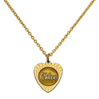 jcpenney.com | Personalized Heart Name Pendant Necklace