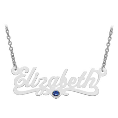 jcpenney.com | Personalized Birthstone and Name Necklace