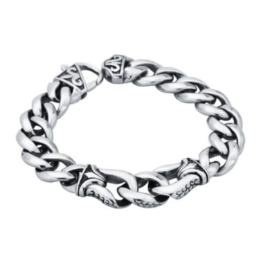 jcpenney.com | Mens Stainless Steel Chain Link Bracelet