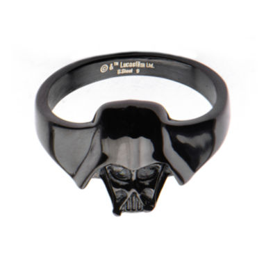jcpenney.com | Star Wars® Black IP Stainless Steel Darth Vader 3D Ring
