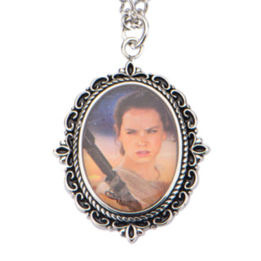 jcpenney.com | Star Wars® Stainless Steel Rey Cameo Pendant Necklace