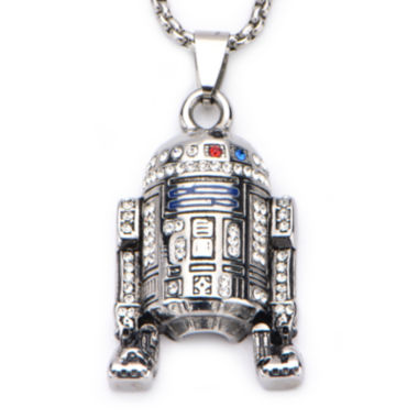 jcpenney.com | Star Wars® Stainless Steel R2D2 Pendant Necklace