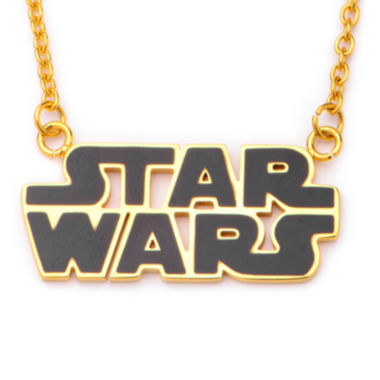 jcpenney.com | Star Wars® Gold IP Stainless Steel Logo Cutout Pendant Necklace