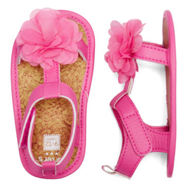 jcpenney.com | Carter's® Flower Sandals - Baby Girls 2-4
