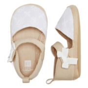Carter's® Ivory Espadrilles – Baby Girls 2-4