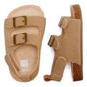 Carter's® Tan Natural Sandals - Baby Boys 2-4