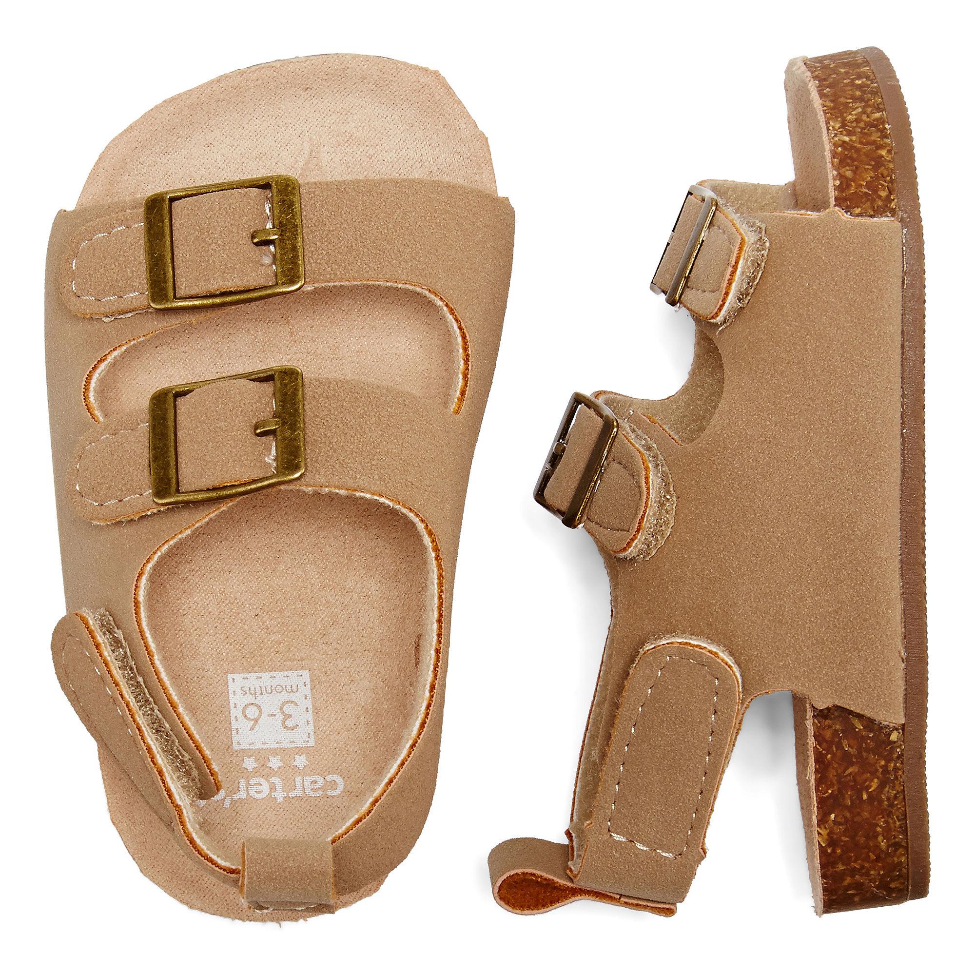 Upc 071534603906 Carter S Tan Natural Sandals Baby