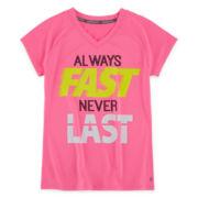 Xersion™ Short-Sleeve Graphic Quick-Dri Tee - Girls 7-16