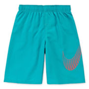 Nike® Big Swoosh Swim Trunks - Preschool Boys 4-6