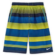 Nike® Optic Shift Volley Swim Trunks - Boys 8-20