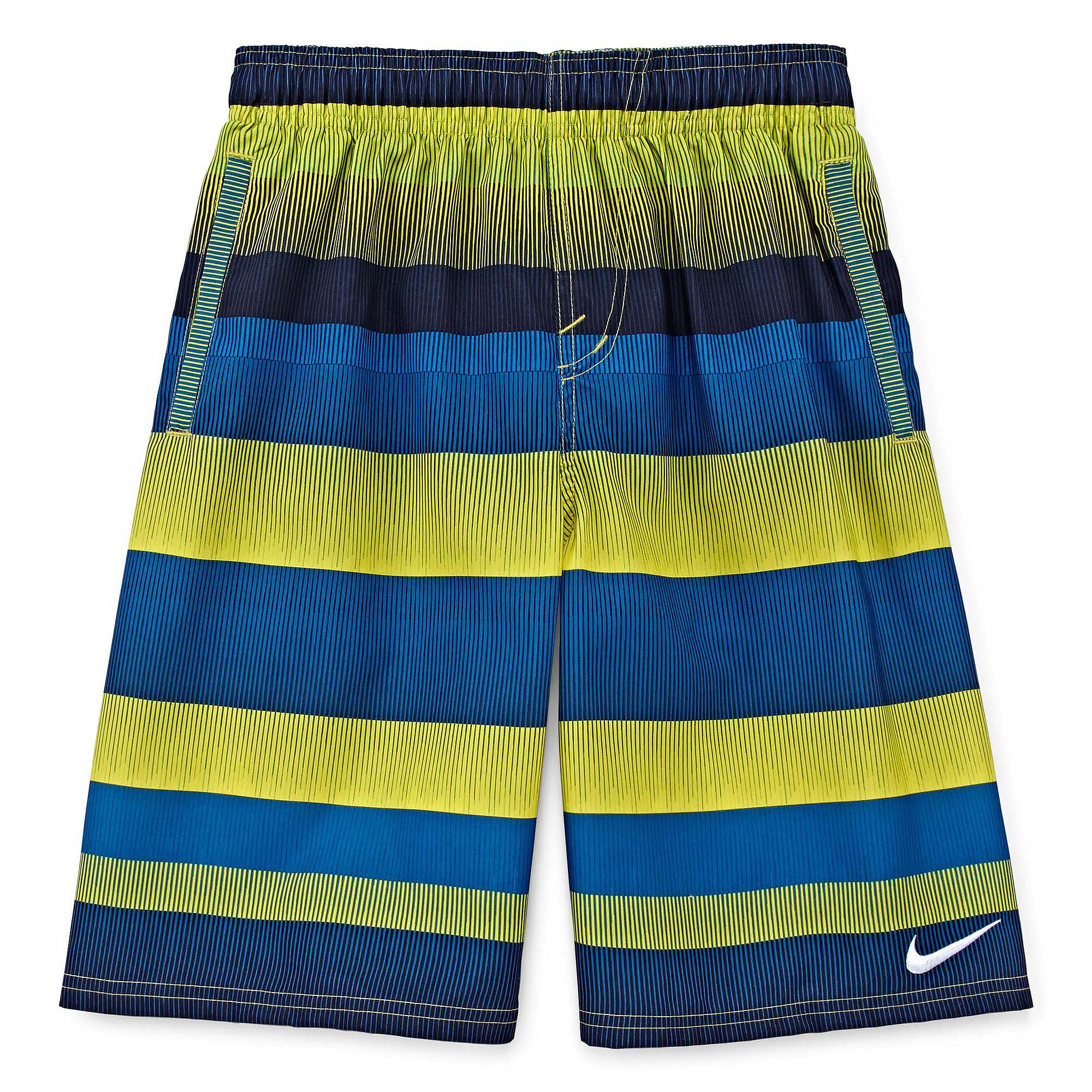 fc4b93af39 UPC 053474725856 product image for Nike Optic Shift Volley Swim Trunks -  Boys 8-20 ...