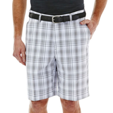 jcpenney.com | Haggar® Cool 18® Classic-Fit Flat-Front Patterned Shorts
