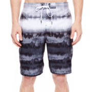 Speedo® Tie-Dye Striped Swim Trunks