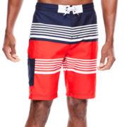 U.S. Polo Assn.® Americana Stripe Board Shorts