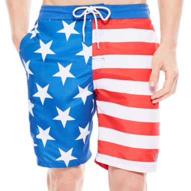 jcpenney.com | U.S. Polo Assn.® American Flag Board Shorts