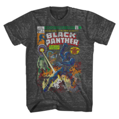 jcpenney.com | Vintage Black Panther Short-Sleeve Tee