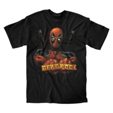 jcpenney.com | Deadpool Knuckles Short-Sleeve Cotton T-Shirt