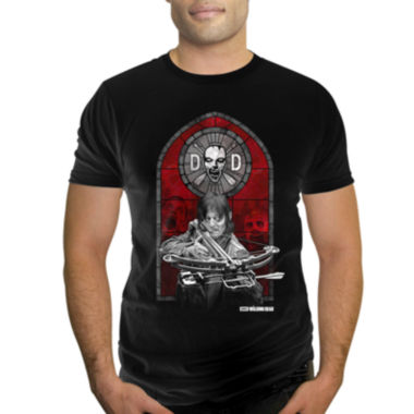 jcpenney.com | Walking Dead Short-Sleeve Stained Glass Tee