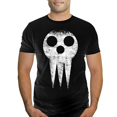 Soul Eater Short-Sleeve Skull Cotton Tee