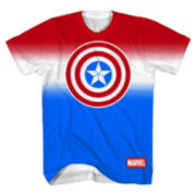 Captain American Short-Sleeve Soccer Jersey