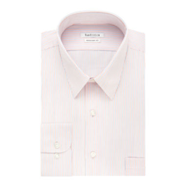 jcpenney.com | Van Heusen® Herringbone Long-Sleeve Dress Shirt