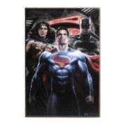 Dawn Of Justice Batman, Superman and Wonder Woman Wall Art