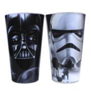 Star Wars® Darth Vader and Stormtrooper 2-pc. Pint Glass Set